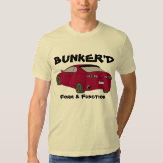 """Camiseta del vocabulario de """"Bunker'd"""" del Cookout Poleras"""