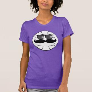Camiseta del voleibol del bigote