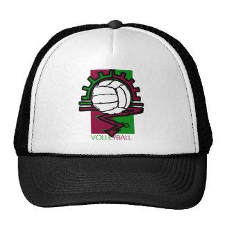 Camiseta del voleibol del vintage gorros bordados