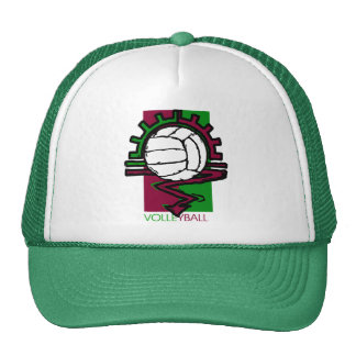 Camiseta del voleibol del vintage gorra