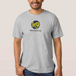 camiseta del voluntario de k9connection.org poleras