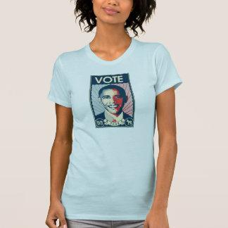 Camiseta del VOTO de OBAMA
