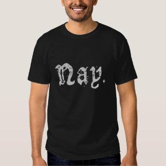Camiseta del voto en contra playera