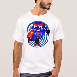 Camiseta del Weightlifter del tiempo de la bomba