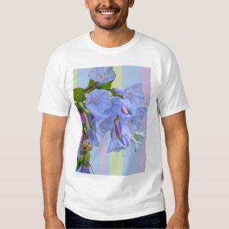 Camiseta del Wildflower de los Bluebells de Polera