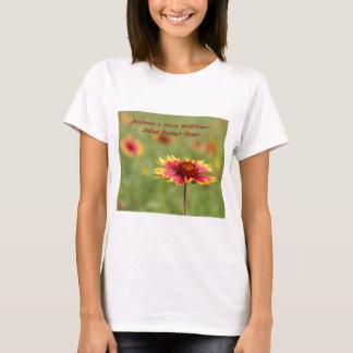 Camiseta del Wildflower del estado de Oklahoma