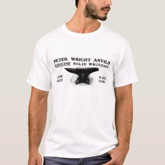 Camiseta del yunque de Peter Wright