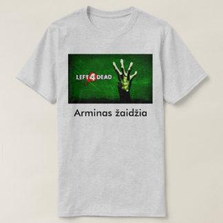 Camiseta del žaidžia de Arminas