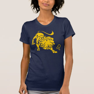 Camiseta del zodiaco de Leo