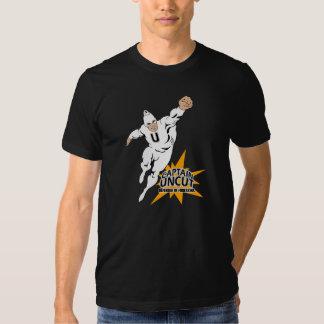 Camiseta (delantera) de capitán Uncut Playera