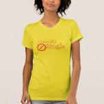 Camiseta Delantera-n-Detrás feliz sola por los