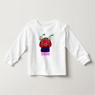 Camiseta deliciosa de los niños de la magdalena de