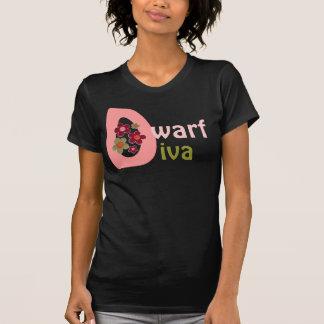 Camiseta descarada de la diva enana remeras