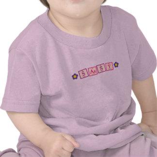 Camiseta descarada del bebé