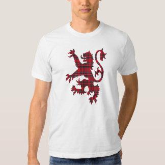 Camiseta desenfrenada del león poleras
