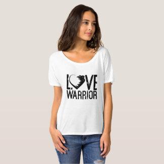 Camiseta desgarbada del novio del guerrero del playeras