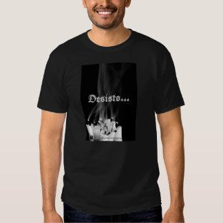 Camiseta Desisto -Design exclusivo Corvo José T-Shirt