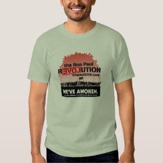 Camiseta despertada Ron Paul Camisas