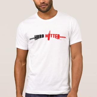 Camiseta destruida logotipo duro del bateador playera
