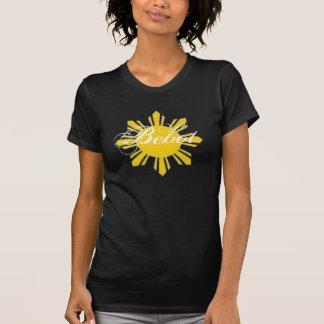 Camiseta destruida negro de Bebot Poleras