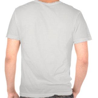 Camiseta destruida para hombre