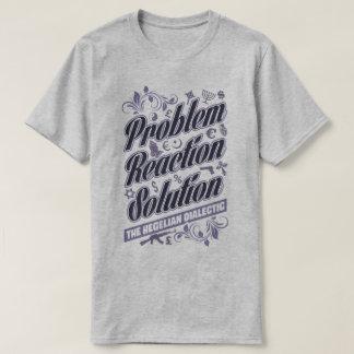 Camiseta dialéctica hegeliana de la solución de la polera
