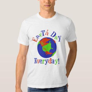 Camiseta diaria del Día de la Tierra Camisas