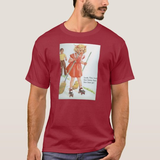 ¡Camiseta Dick y los años 50 de los pcteres de Playera