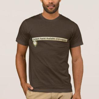Camiseta disponible de la ayuda contenta