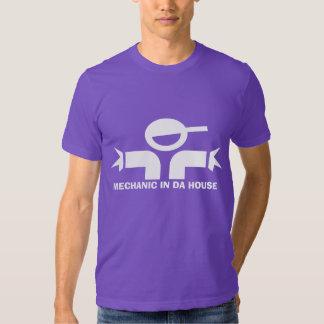 Camiseta divertida con la cita para los mecánicos remeras