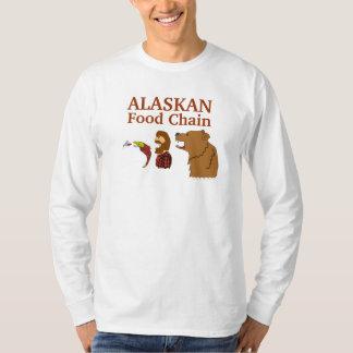 Camiseta divertida de Alaska del recuerdo de Camisas