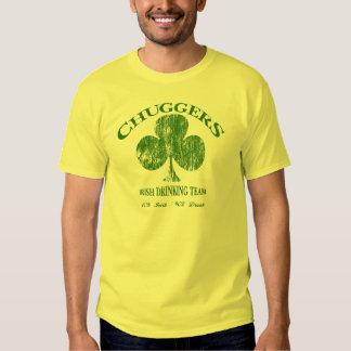 Camiseta divertida de consumición 2 del equipo del playeras