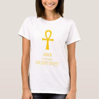 Camiseta divertida de Egipto antiguo Ankh