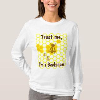 Camiseta divertida de encargo del arte del panal
