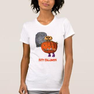 Camiseta divertida de Halloween de la piedra