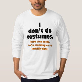 Camiseta divertida de Halloween del Anti-Traje