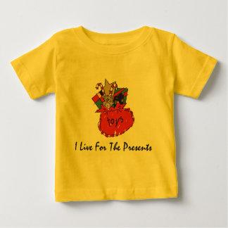 Camiseta divertida de la camiseta del navidad playera