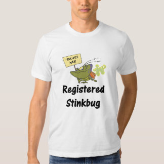 Camiseta divertida de la chinche hedionda remera