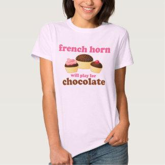 Camiseta divertida de la cita de la trompa playera