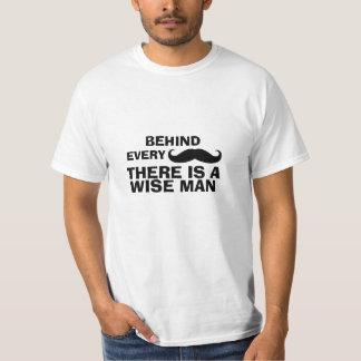 Camiseta divertida de la cita del bigote polera