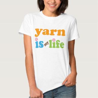 Camiseta divertida de la cita del hilado del camisas