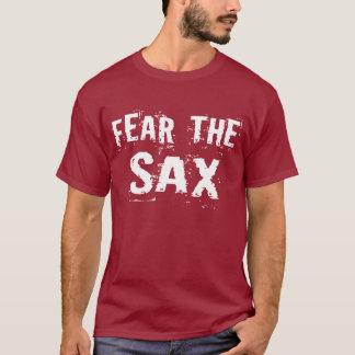 Camiseta divertida de la cita del saxofón