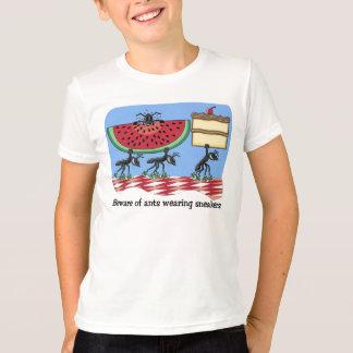 Camiseta divertida de la comida campestre