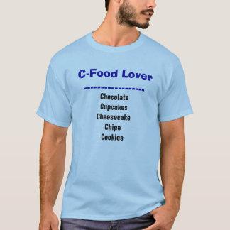 Camiseta divertida de la dieta del amante de la