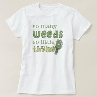 Camiseta divertida de la muñeca de tan muchas remeras
