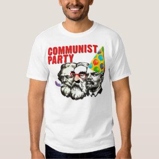 Camiseta divertida de la parodia del Partido Playeras