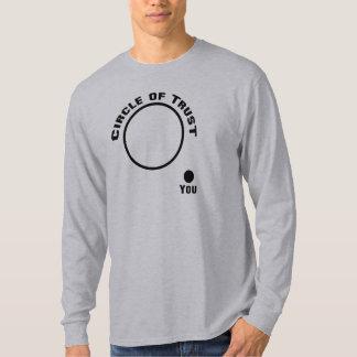 Camiseta divertida de la película, círculo de la remeras