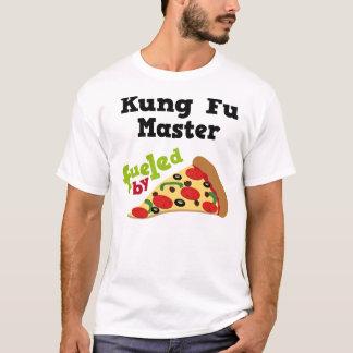 Camiseta (divertida) de la pizza del amo de Kung
