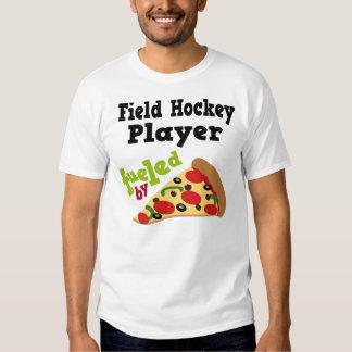 Camiseta (divertida) de la pizza del jugador de playeras