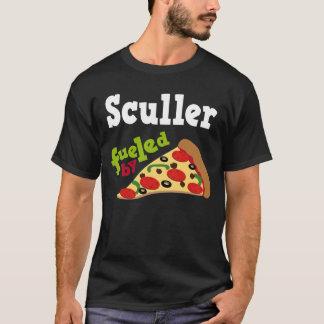 Camiseta (divertida) de la pizza del Sculler